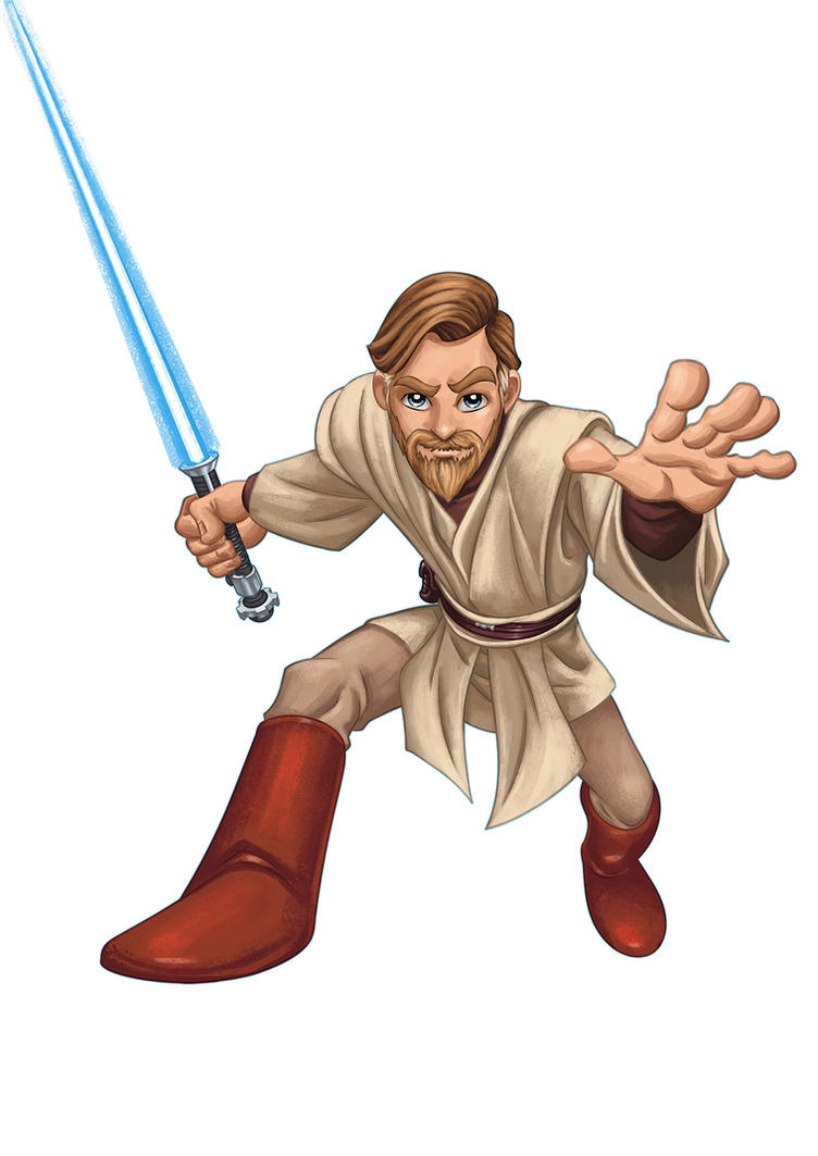 Obi-Wan Kenobi by MBorkowski