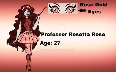 Oc Rosetta Rose