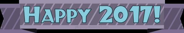 Happy New Year 2017 by pbcpony