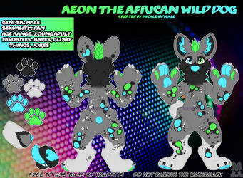 Aeon the African Wild Dog - May 2020