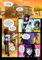 Comic page testing by AmaruZeichner