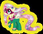 Rainbow Saddle Rager Crystal
