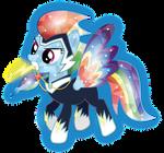 Rainbow Zapp Crystal