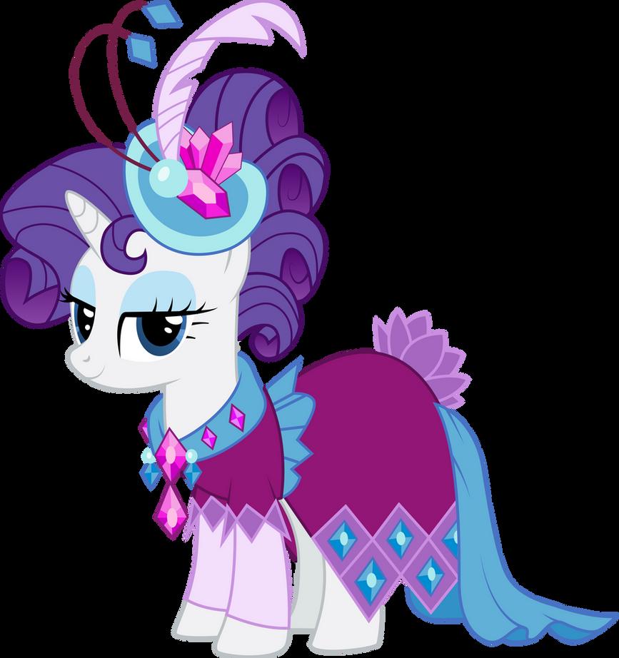 Rarity in Gala Dress by InfiniteWarlock