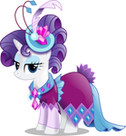 Rarity in Gala Dress (With Shading)