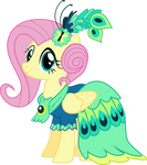 Fluttershy in Gala Dress