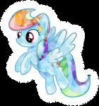 Crystal Rainbow Dash (2nd Edition)