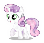 Crystal Sweetie Belle