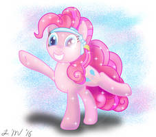 Gleeful Pinkie Pie by InfiniteWarlock