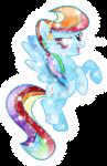 Awesome Crystal Rainbow Dash