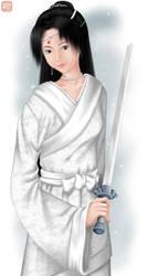 Girl in White by sakura13
