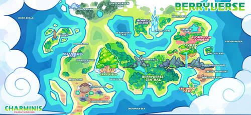 Charminis - World Map by peachubun