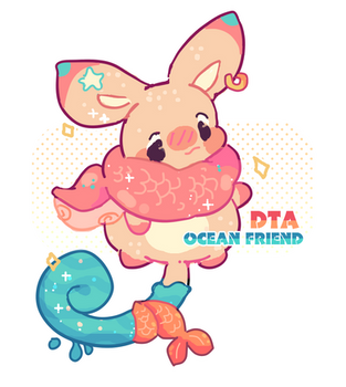 (CLOSED) ocean friend - DTA by peachubun