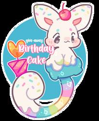 (CLOSED) 1 Week DTE - Birthday Cake