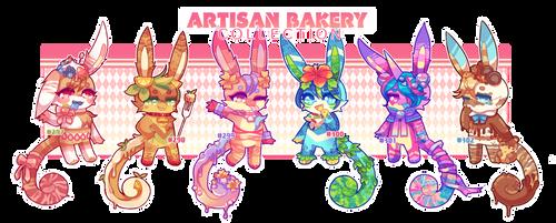 (CLOSED) Charminis - Artisan Bakery Collection {1} by peachubun