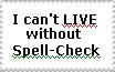 Spell-Check Stamp by SPKMatsuda23