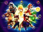 Mario-Power ups