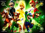 Luigi-clasic Power ups