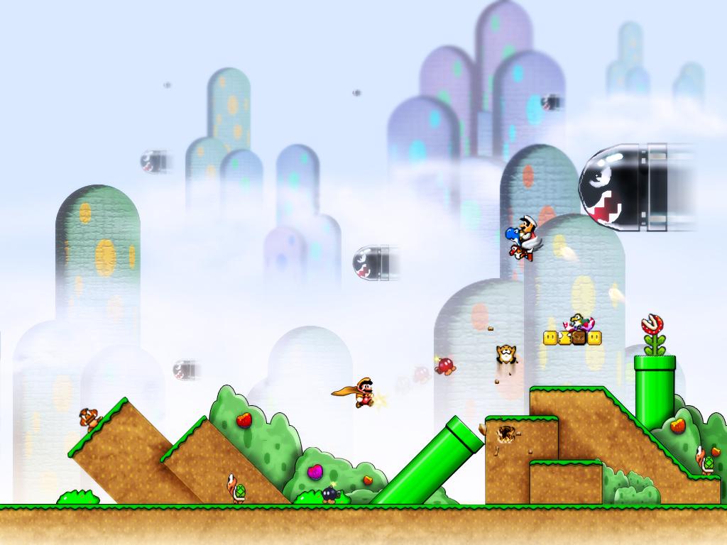Mario world by xXLightsourceXx