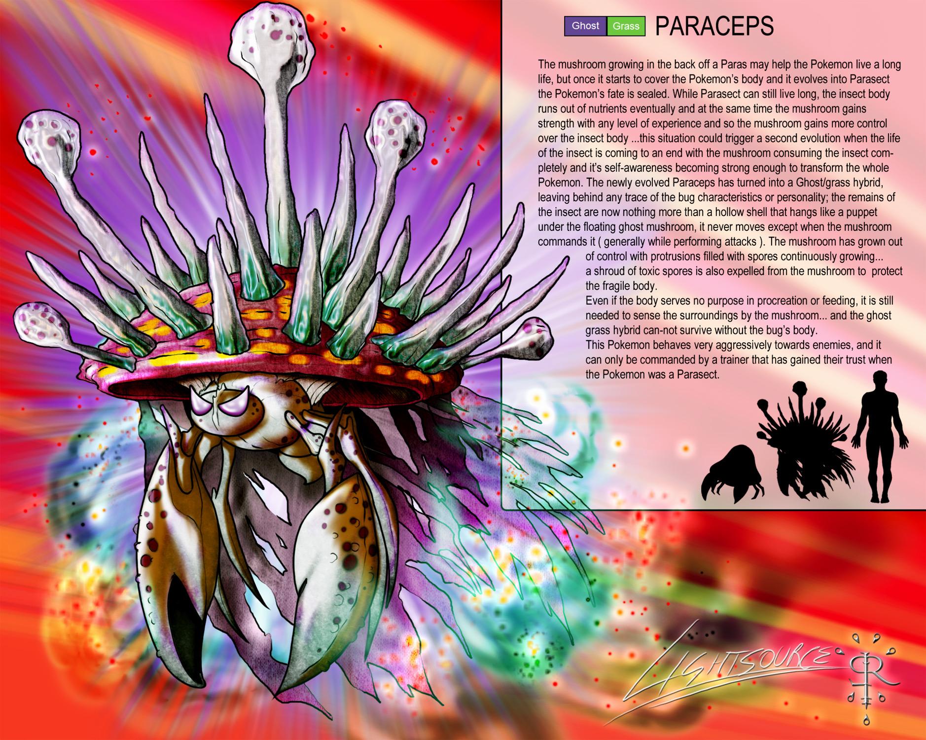 Paraceps-Pokemon concept by xXLightsourceXx