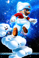 Cloud Mario by xXLightsourceXx