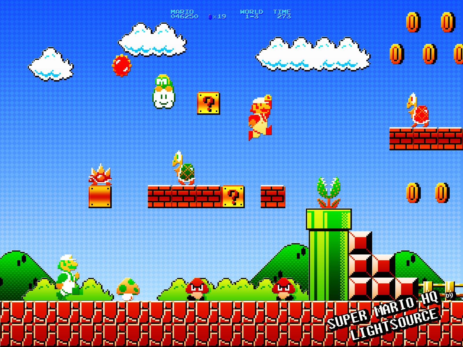Super Mario Bros World War 3 By Qwertyuiopasd1234567 On – Fondos de