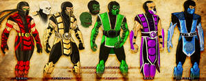 MK ninjas-redesign sketches