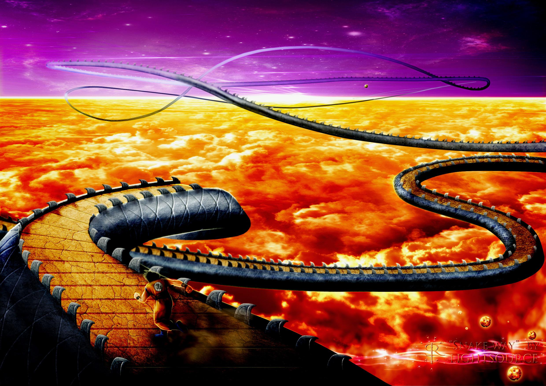 Con đường rắn dragon ball