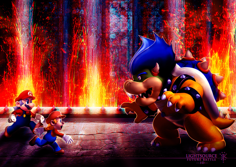 Mario-Future Battle-3D by xXLightsourceXx