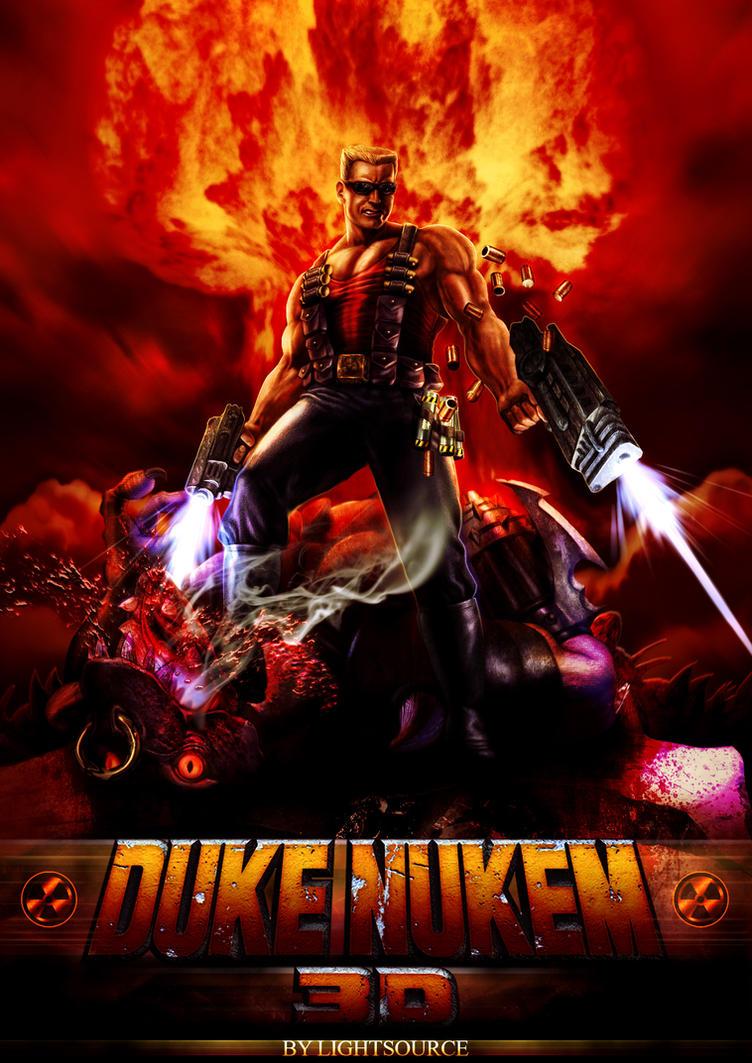Duke Nukem 3d HD Poster By XXLightsourceXx