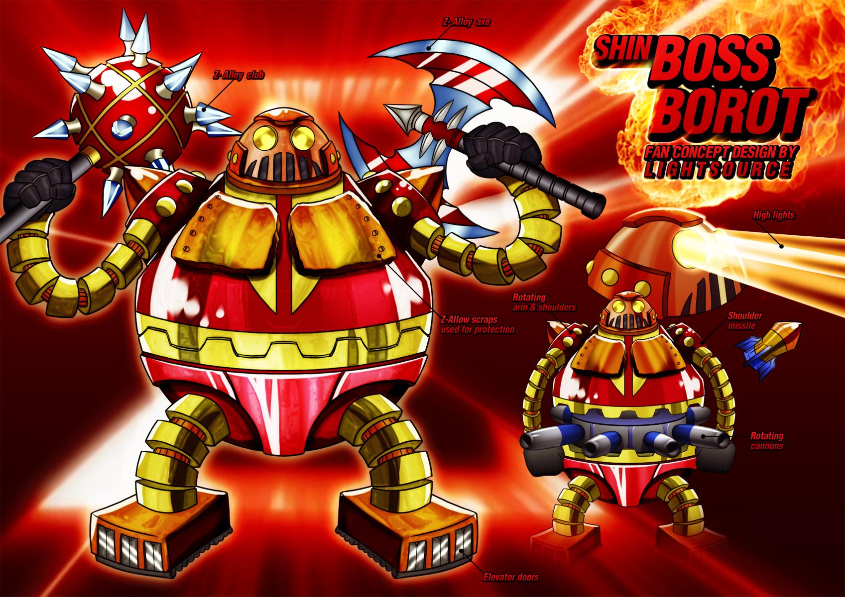 Shin Boss Borot fan concept by xXLightsourceXx
