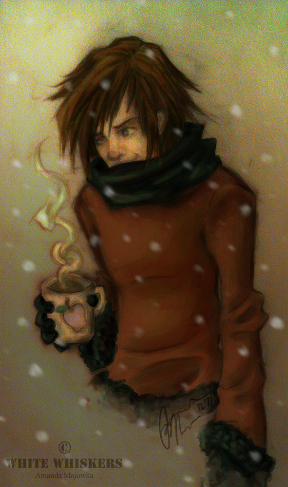 Hot Cocoa On A Cold Winters Night by White--Whiskers