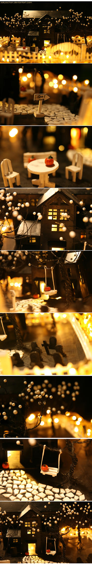 .:DECOR:. HALLOWEEN HOUSE NO 2 by sakyachan