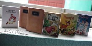 My miniature books by sakyachan
