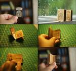 Rapunzel miniature book