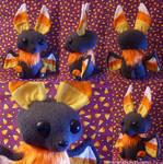 Candycorn Bat Plush
