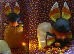 Candycorn Bat Plush 2