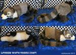 Lifesize Coati Plushie
