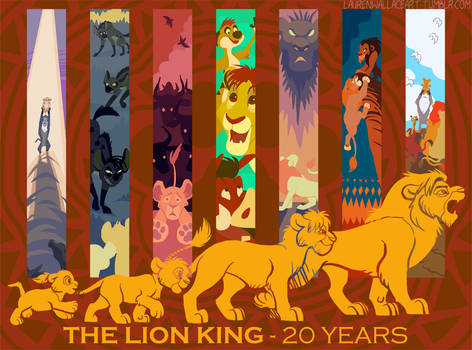 The Lion King 20th Anniversary