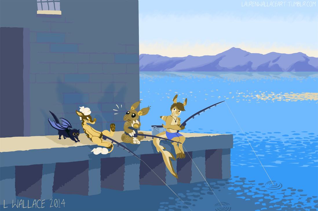 Fishing Stories by GrowlyLobita