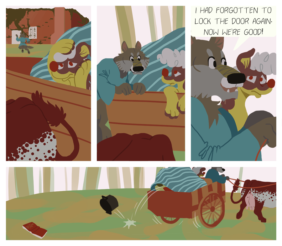 Road Trip, pg 5 by GrowlyLobita