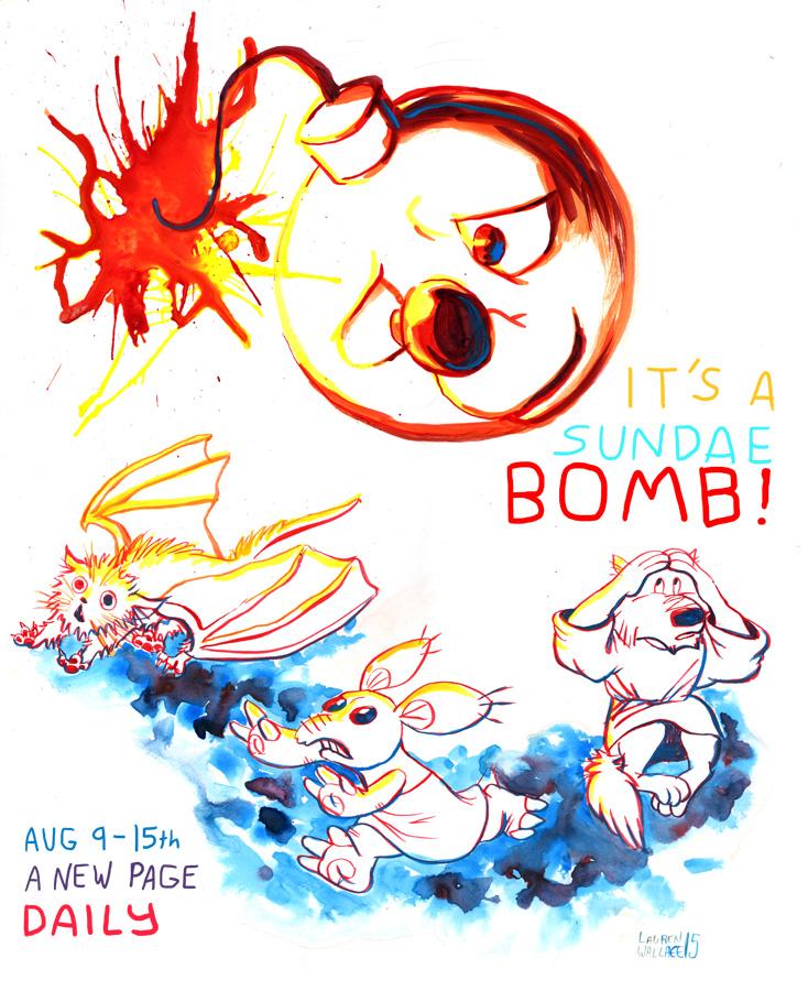 It's a Sundae Bomb! by GrowlyLobita