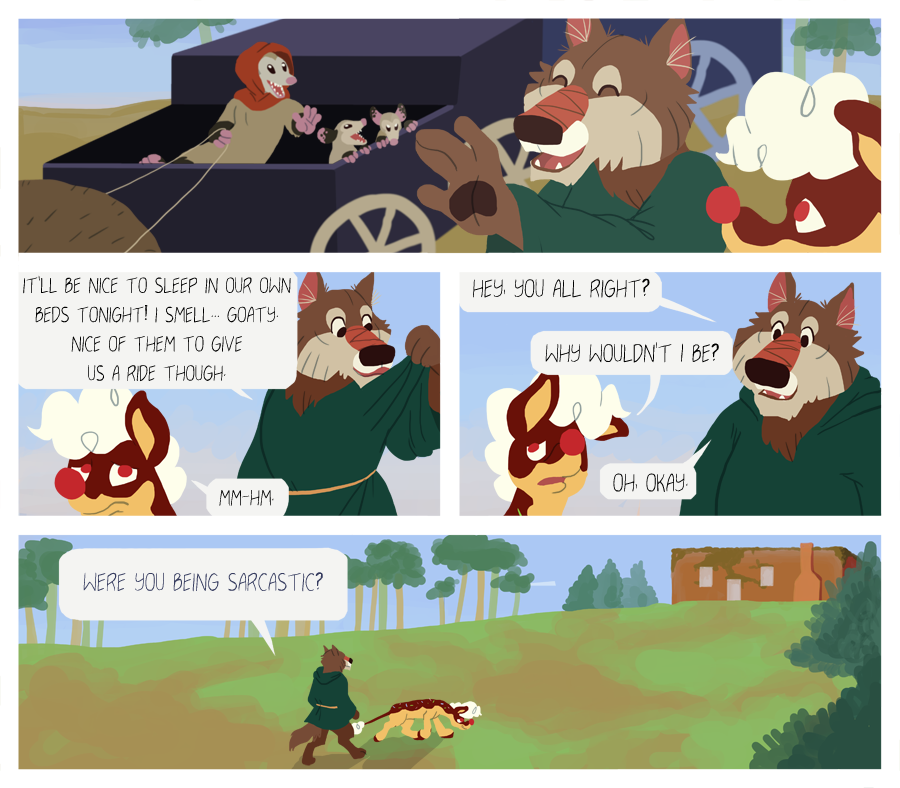 Road Trip, pg 38 by GrowlyLobita