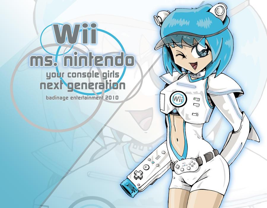 Wii anime girl