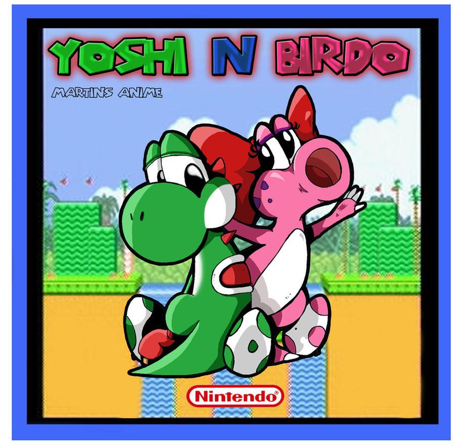 Yoshi and Birdo by animefuzz