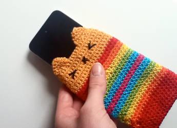 crochet kitten bag by Helene-art