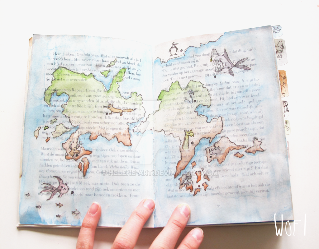 Fantasy book by Helene-art