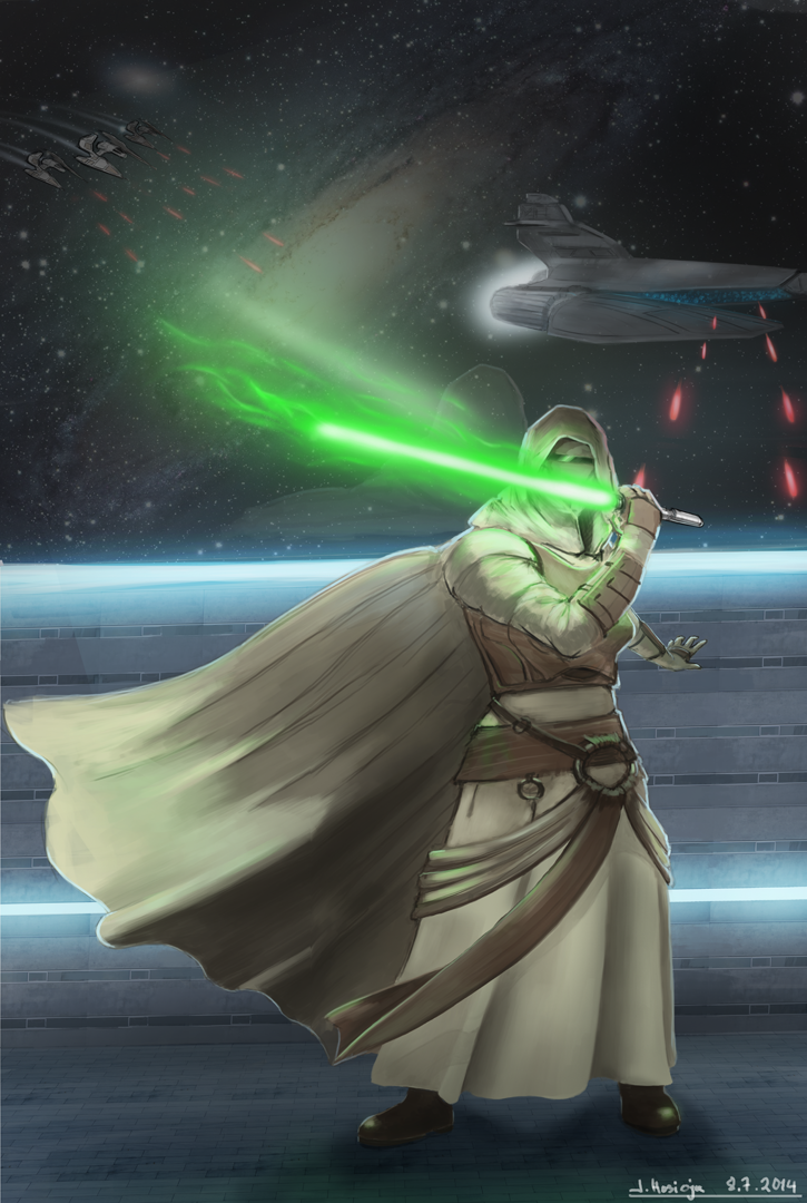 A - Z Character series - Revan by SormiPoro
