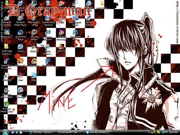My Desktop by Shadowchan14
