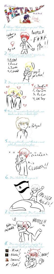 Hetalia Meme by Shadowchan14